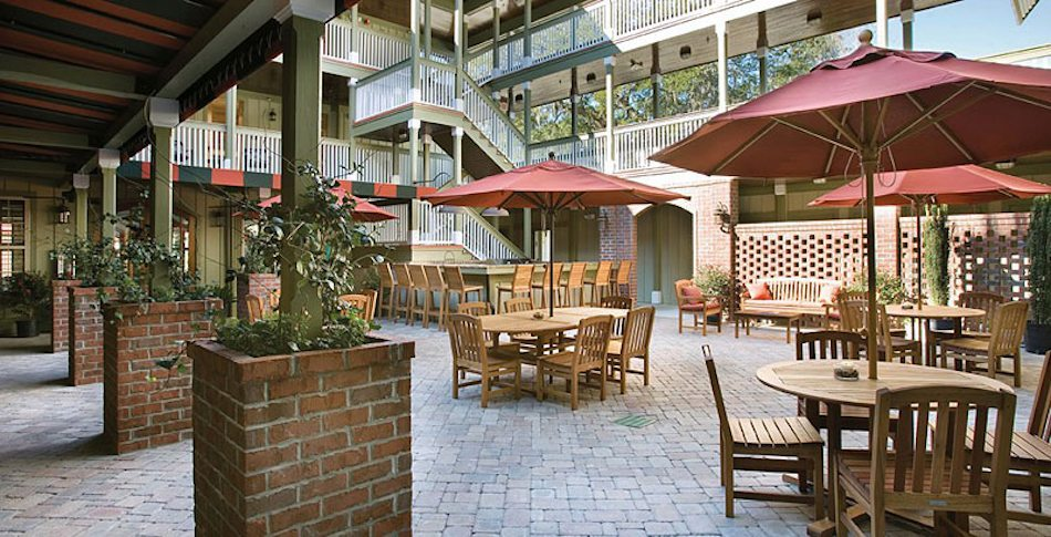 Inlet Sports Lodge Courtyard Myrtle Beach
