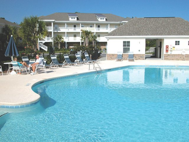 North Myrtle Villas Pool