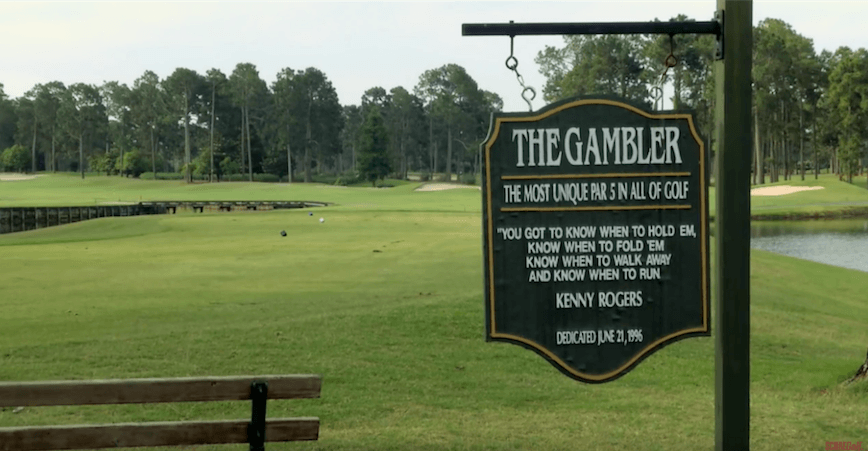 Kings North Golf Famous Hole - Gambler
